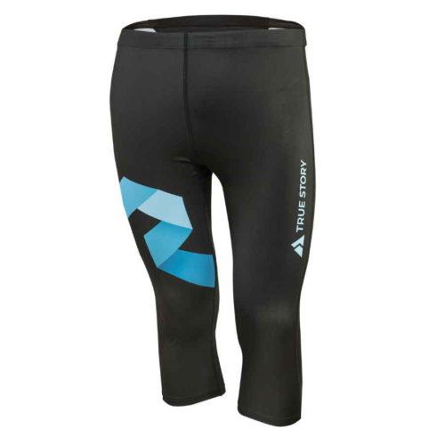 tříčtvrteční elastické kalhoty