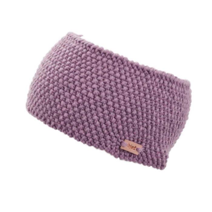 pletená merino čelenka